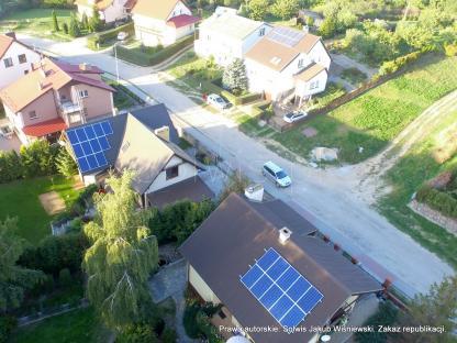Mikroinstalacje PV w gminie