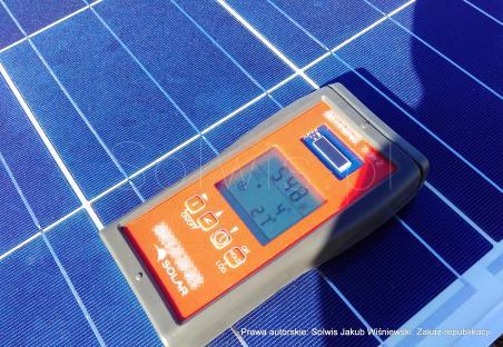 Pomiary powykonawcze - pomiar natężenia promieniowania