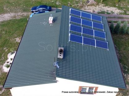 Mikroinstalacja PV 3 kWp