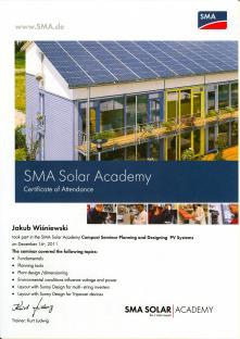 Szkolenie projektowe u producenta falowników - SMA