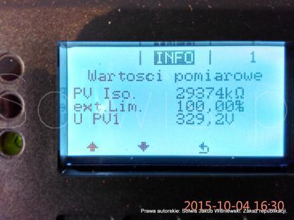 Procedura powykonawcza - odczyt parametrów z falownika