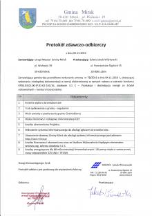 Studium wykonalności, wniosek o dotację z RPO WD 3.1c